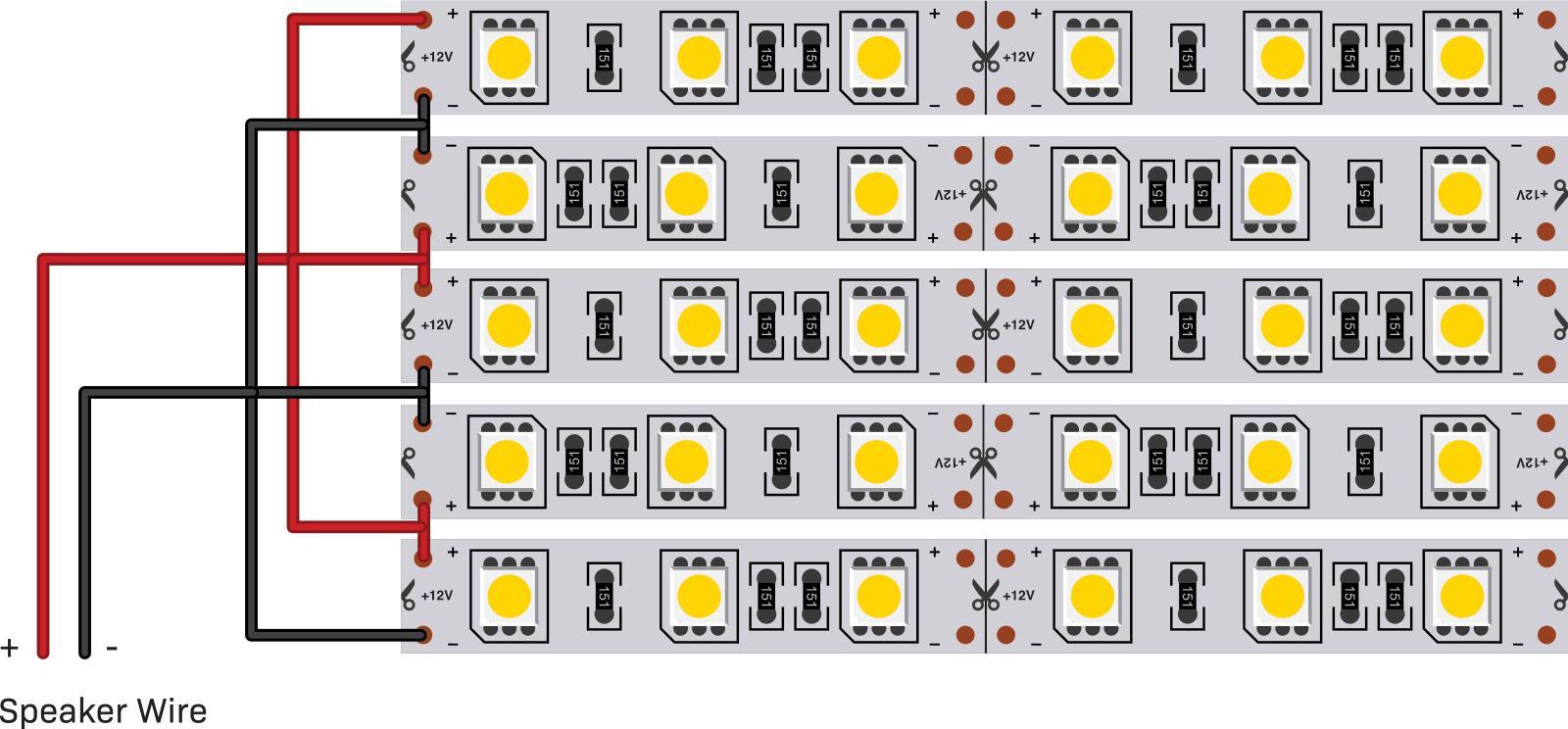 Super Size Me Led Vu Meter Diyode Magazine Audio Spectrum Analyzer Circuit 400led Speaker Wire Diagram