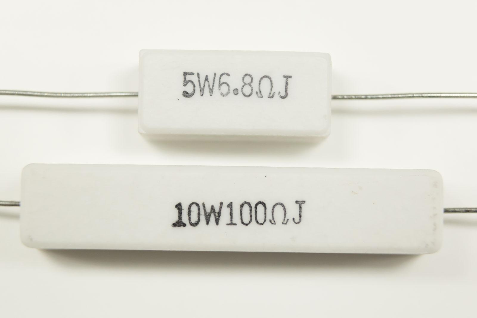 Resistors And How We Use Them Diyode Magazine Working Of There Are Other Sizes Types Around Rated At 1w Or Even 2w Look A Lot Like Larger Version 05w Type But Can Dissipate