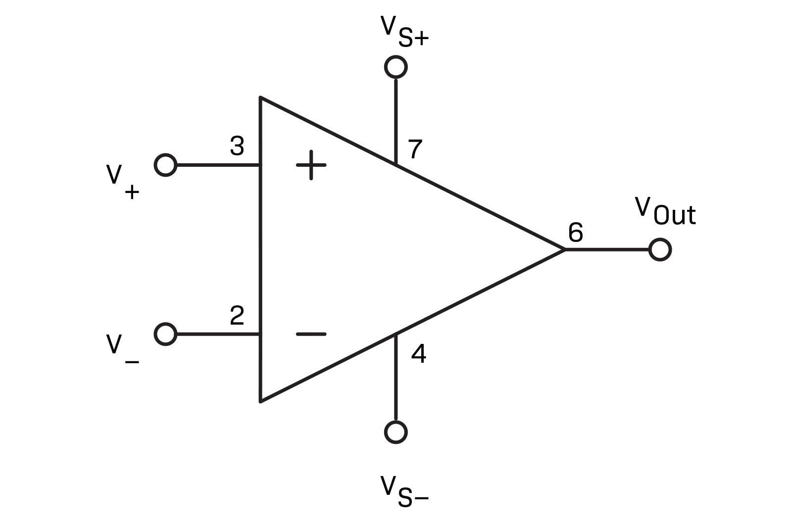 Operational Amplifiers Diyode Magazine Alternate Positivevoltage Switching Regulator Circuit Diagram Pin 7 Is For The Positive Voltage From Power Supply And 4 Negative Can Be Bipolar Meaning It Will Run