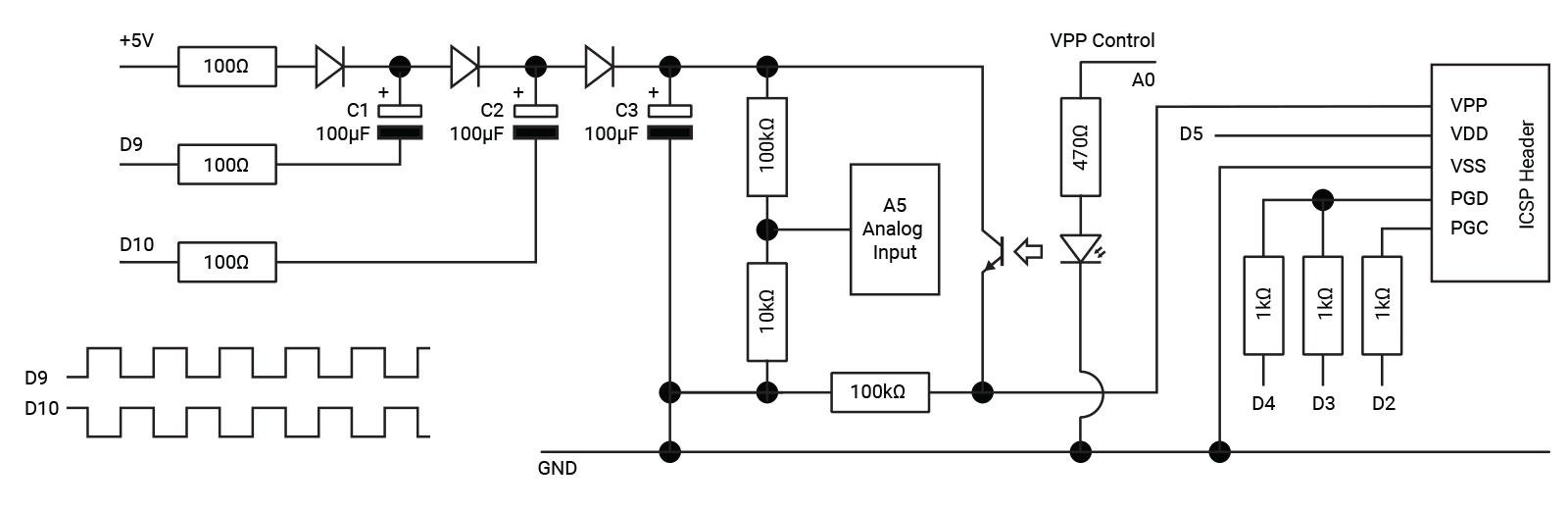 Arduino Pic Programmer Diyode Magazine The Form Below To Delete This Voltage Divider Circuit Diagram Build