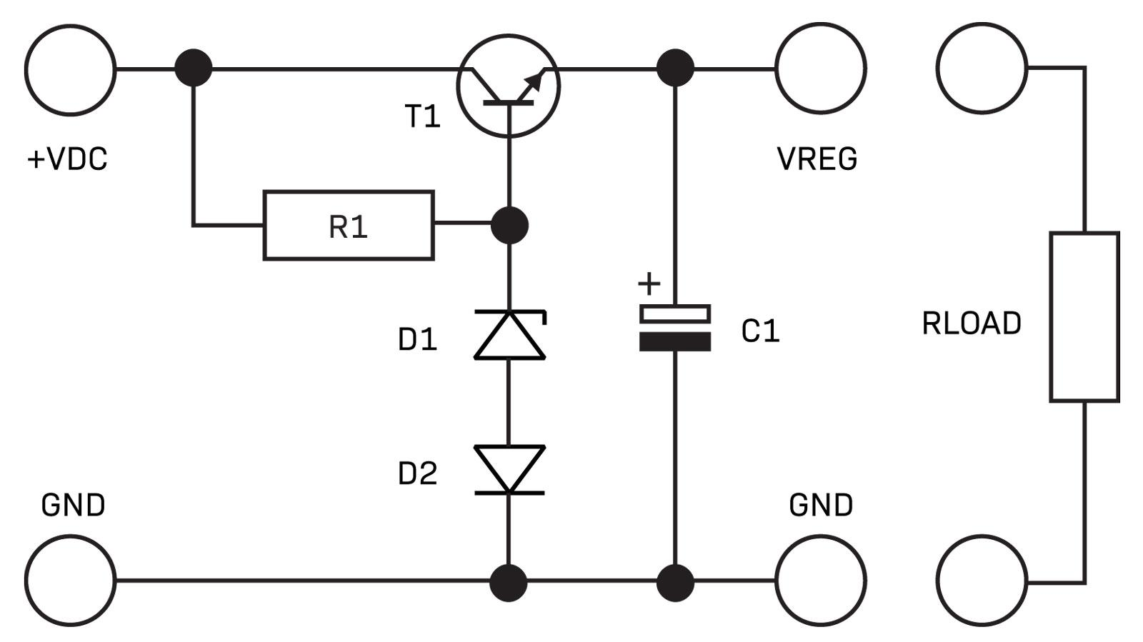 Part 2 The Linear Power Supply Diyode Magazine Circuits Can Be Used Anywhere A Zener Diode Function Would Fig 1