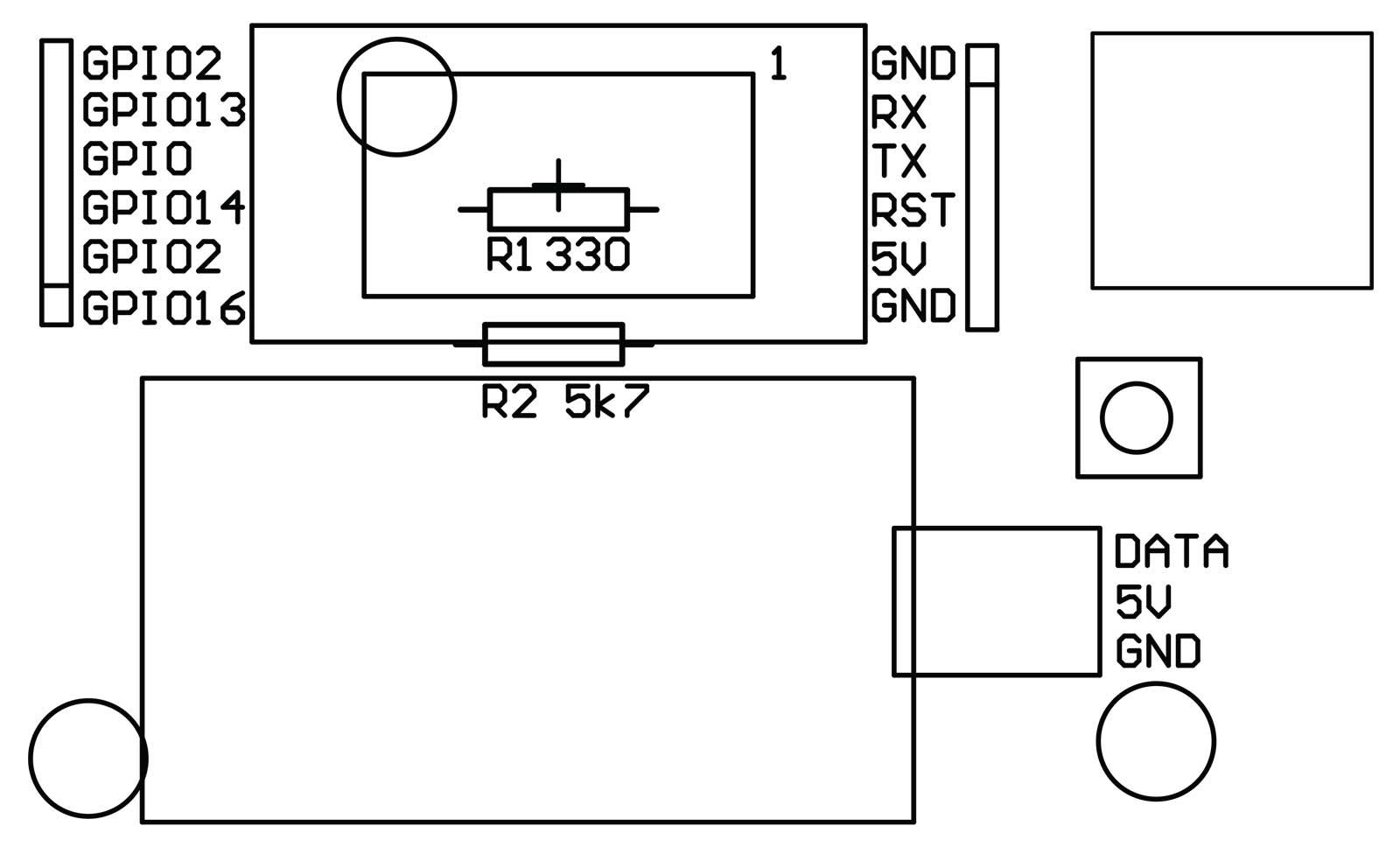part 1  temperature display and breakout board