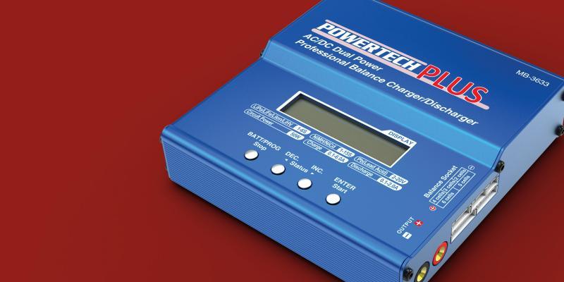 powertech charger manual