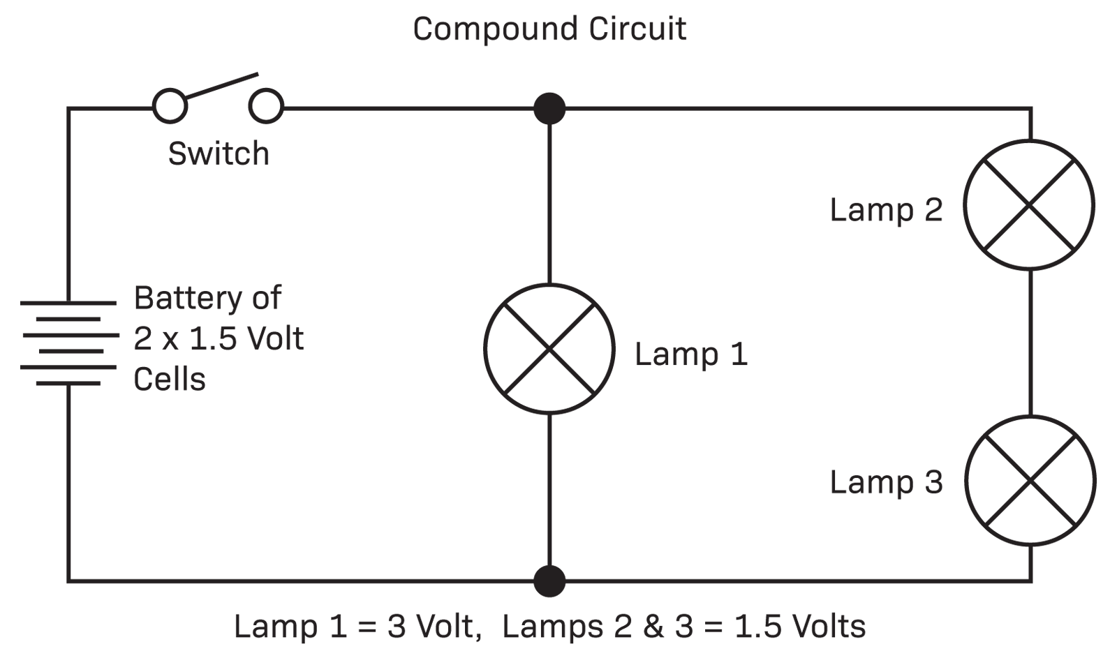 Series And Parallel Circuit Diagram Five Circuits Diyode Magazine