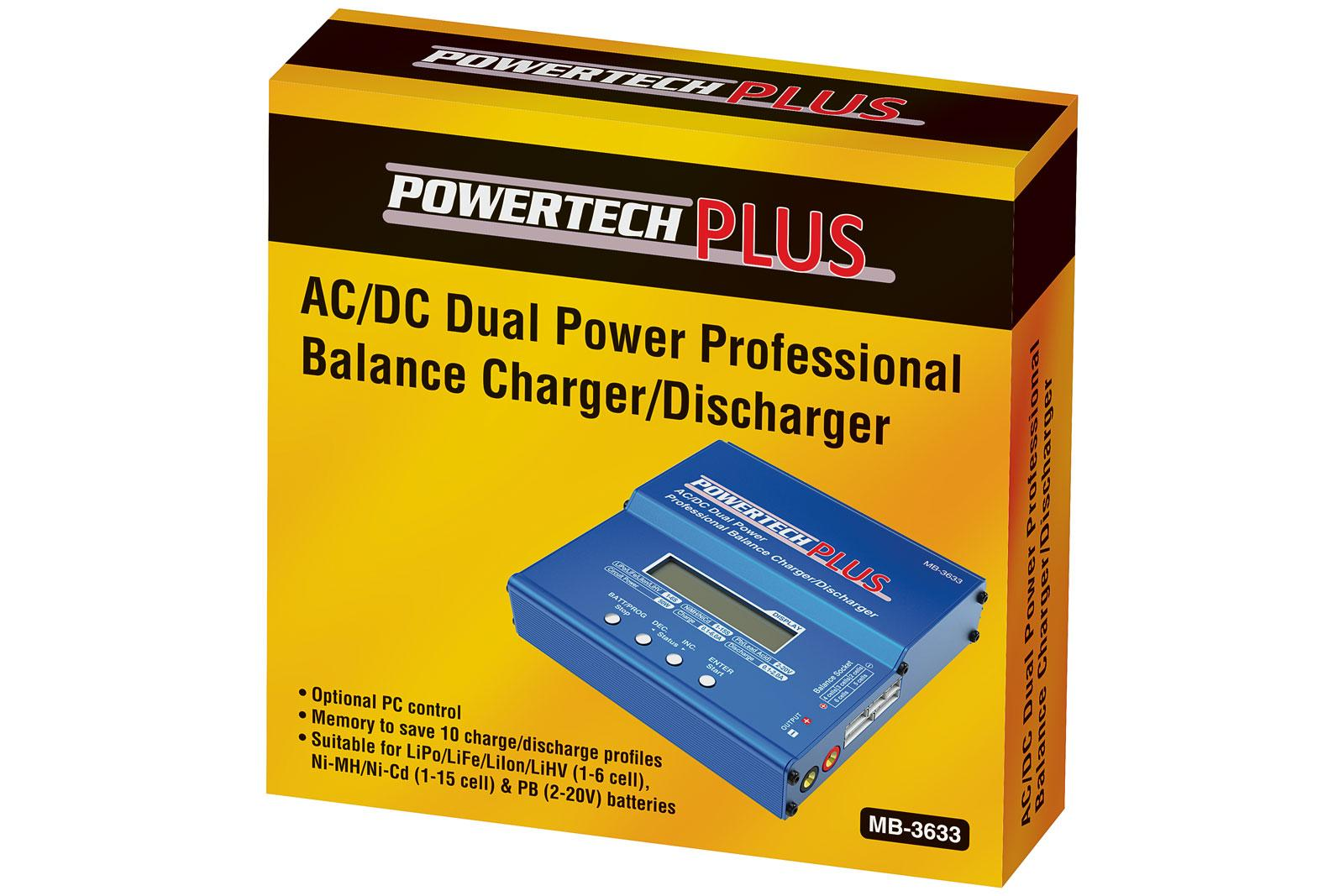 Get It Now Powertech Plus Multi Cell Balance Charger Diyode Magazine Lipo Charging How To Charge Your Packs The First Observation We Made Is That There Are Plenty Of Cable Adaptors Included Suit Various Battery Pack Connections So Only Took Us A Few
