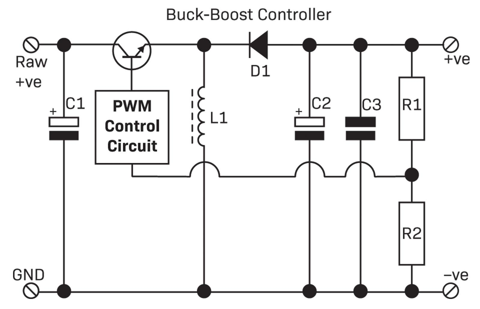 Part 1 The Switchmode Power Supply Diyode Magazine Example Smoothing Capacitor Circuit Buck Boost Smps