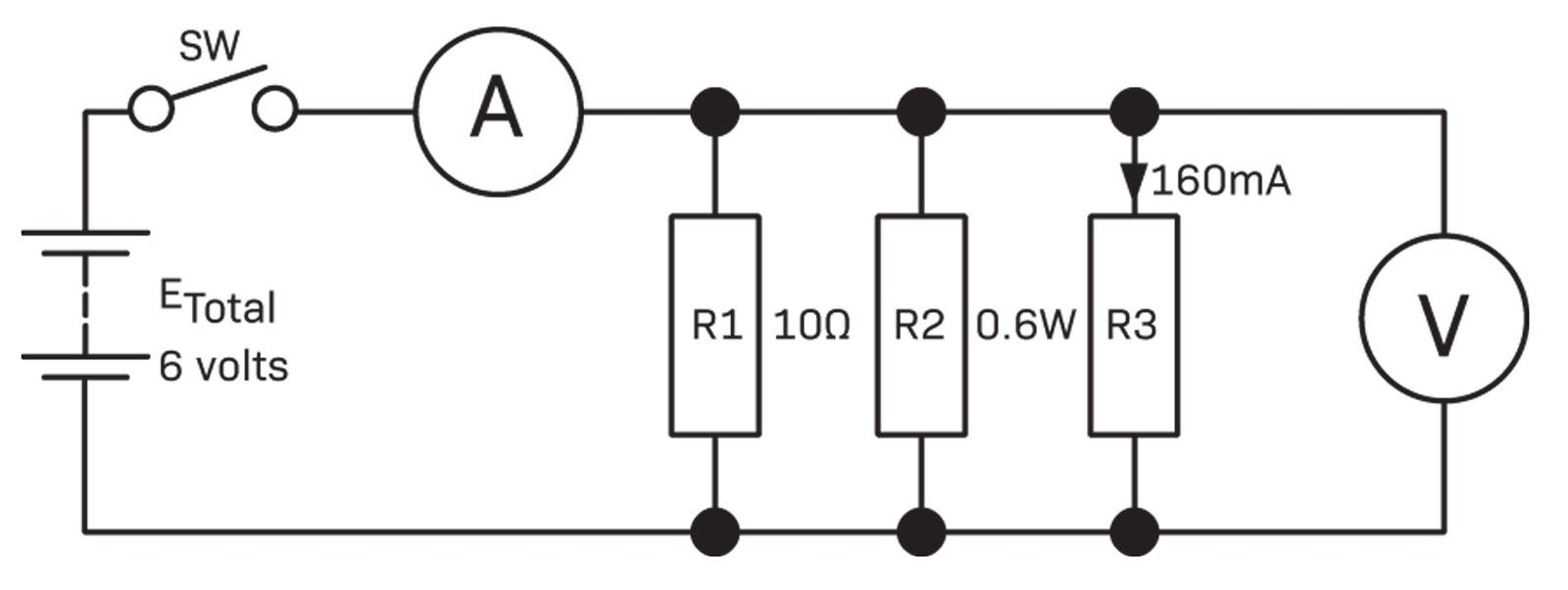 Circuit Analysis Diyode Magazine Remember Ammeters Are Attached In The Series 6 Figure