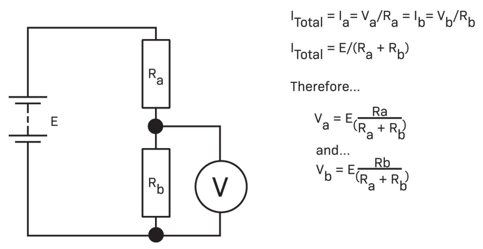 Circuit Analysis Diyode Magazine Simple Is Called A Voltage Divider In Which Two Resistors Fig 13