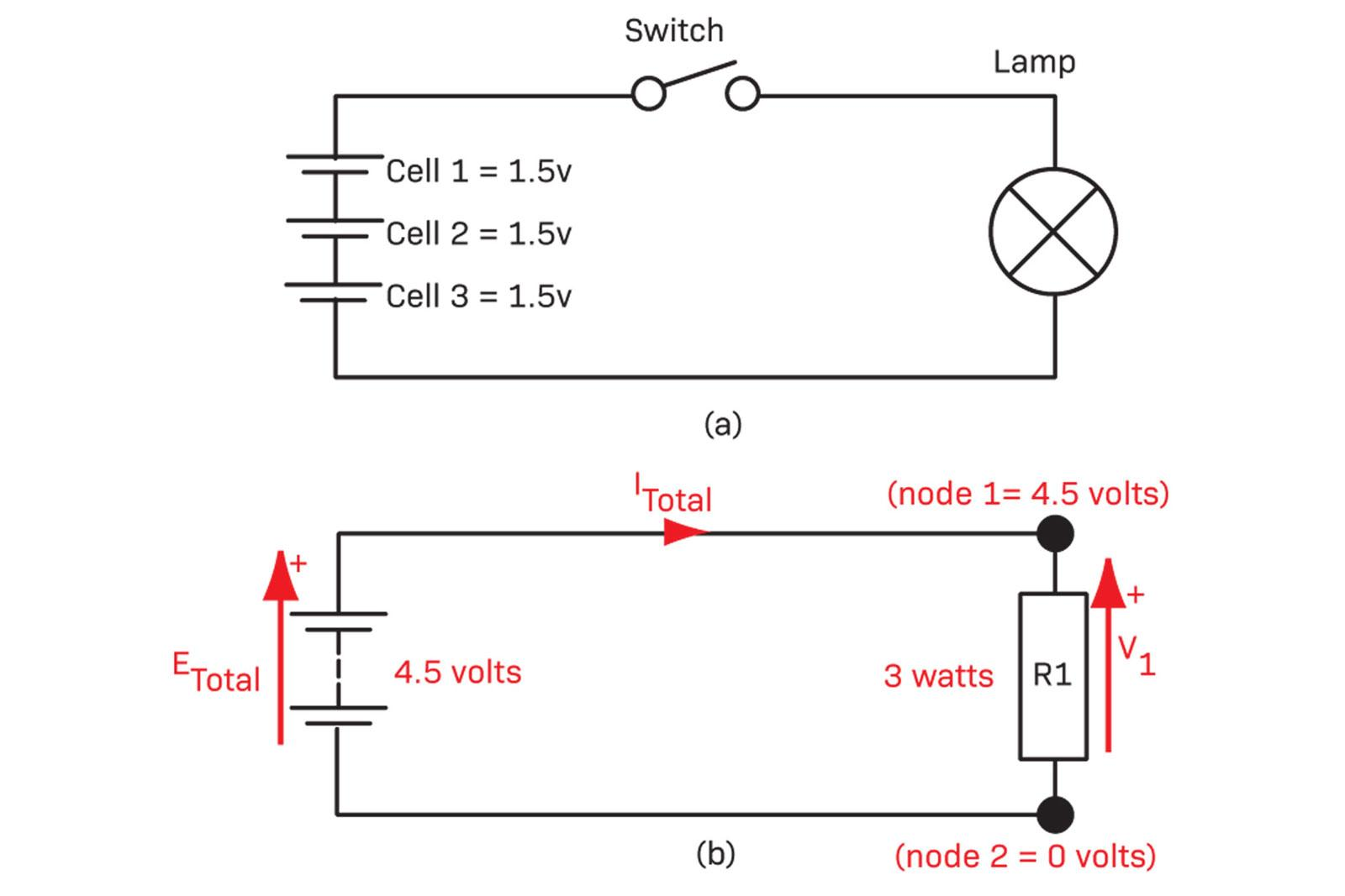 Circuit Analysis Diyode Magazine Simple Is Called A Voltage Divider In Which Two Resistors Resistor 3 Figure