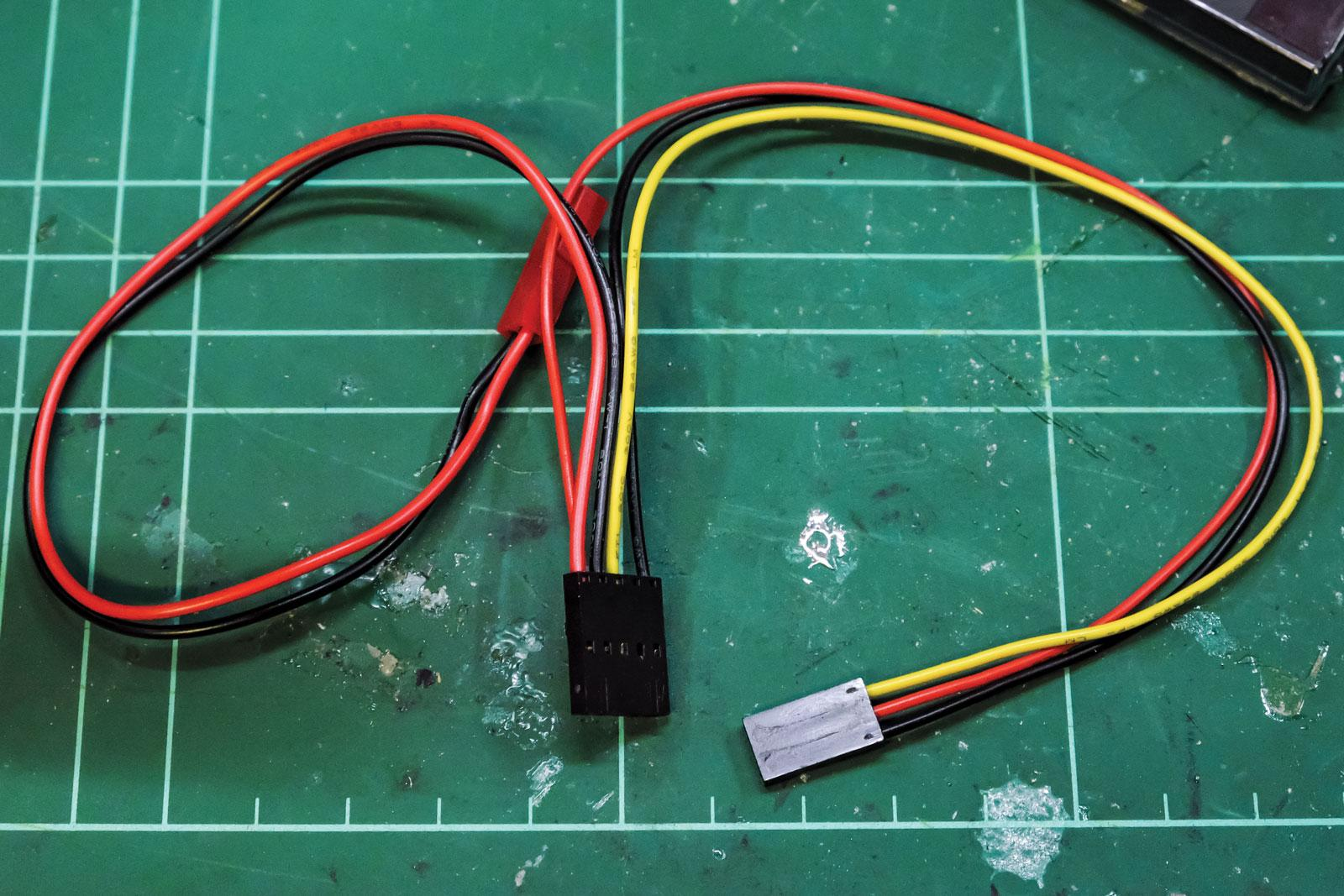 3-pin servo lead