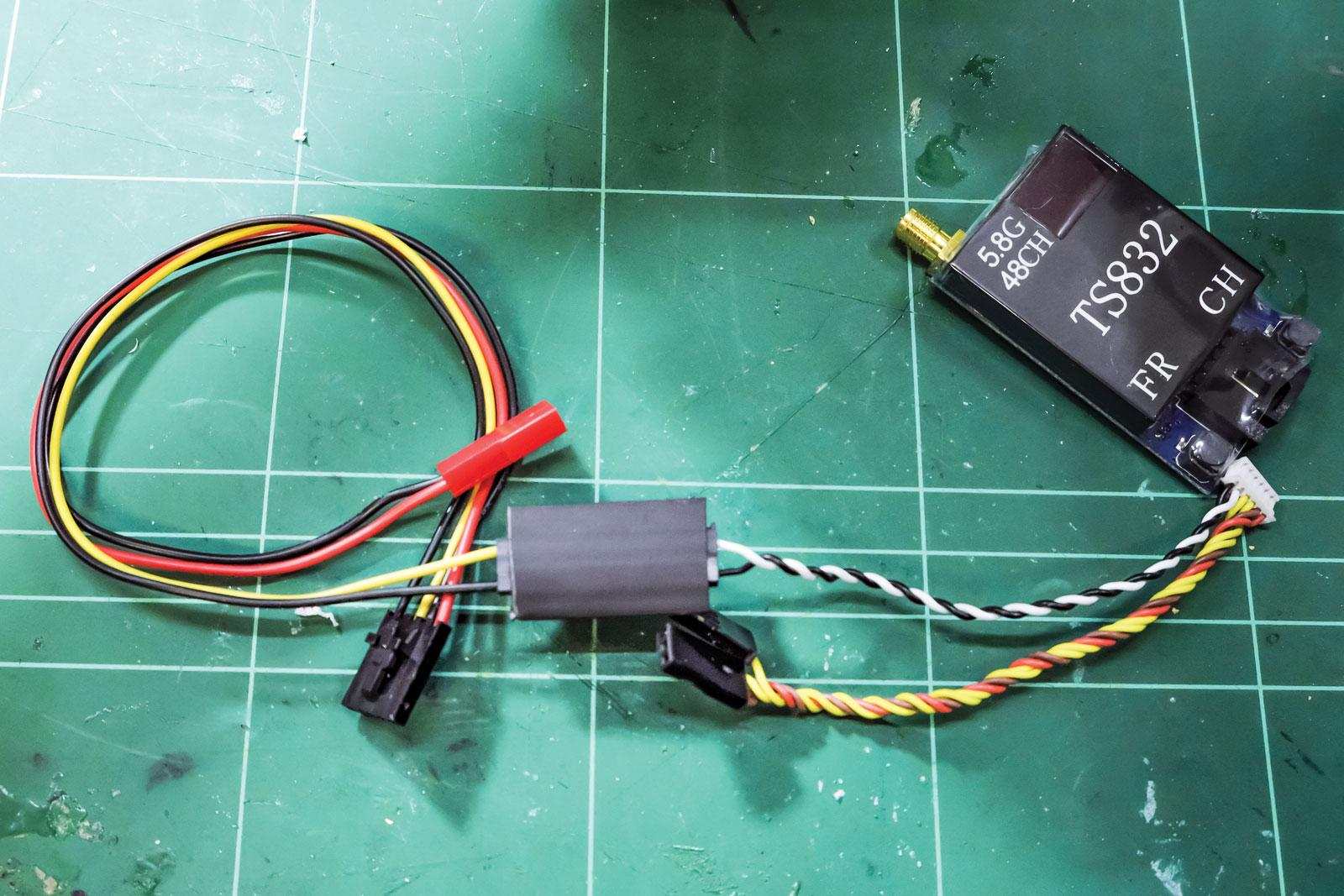 heat shrink connection