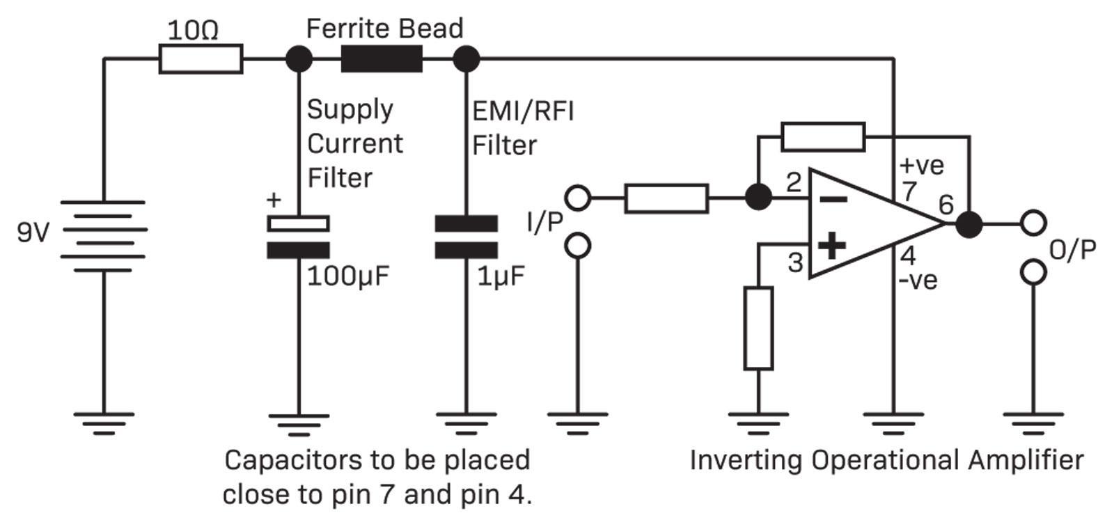Operational Amplifiers Diyode Magazine Highcurrentamplifierwithrailtorailoutput Amplifiercircuit Dual Rail Supply