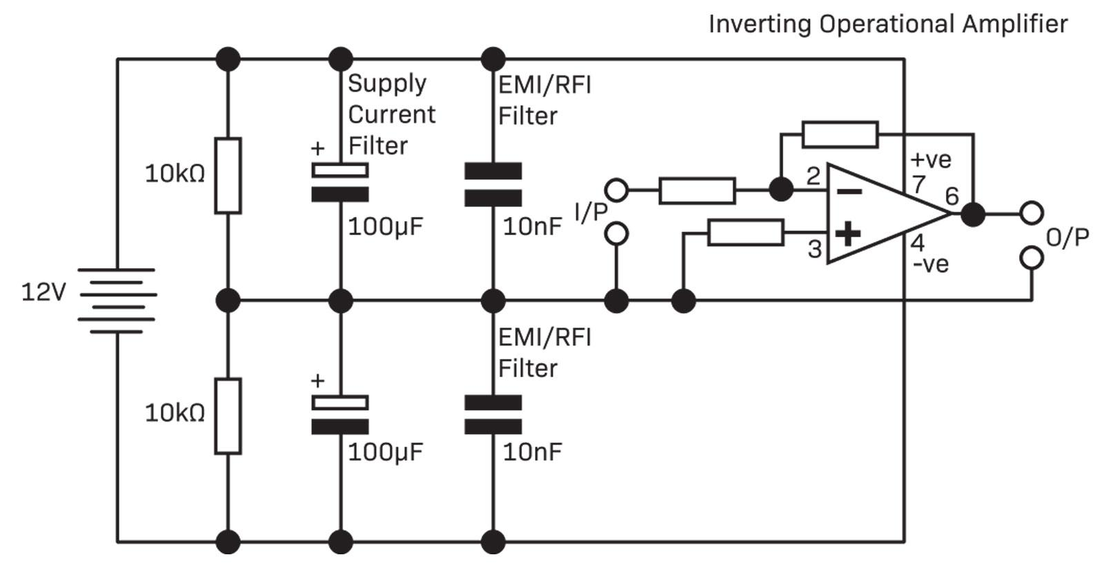 Operational Amplifiers Diyode Magazine The 741 Opamp Is A Common General Purpose Amplifier Description