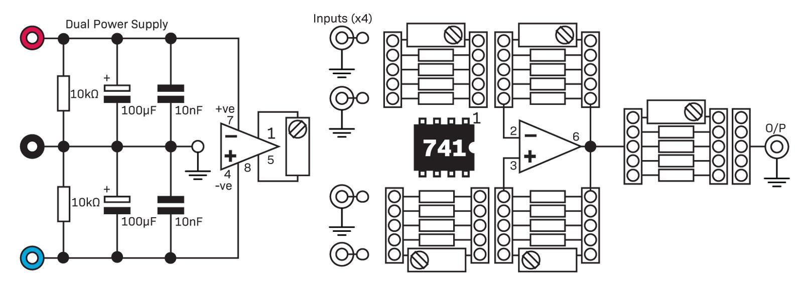 Operational Amplifiers Diyode Magazine Power Quad Opamp Circuit Filtercircuit Basiccircuit Amplifier Circuits