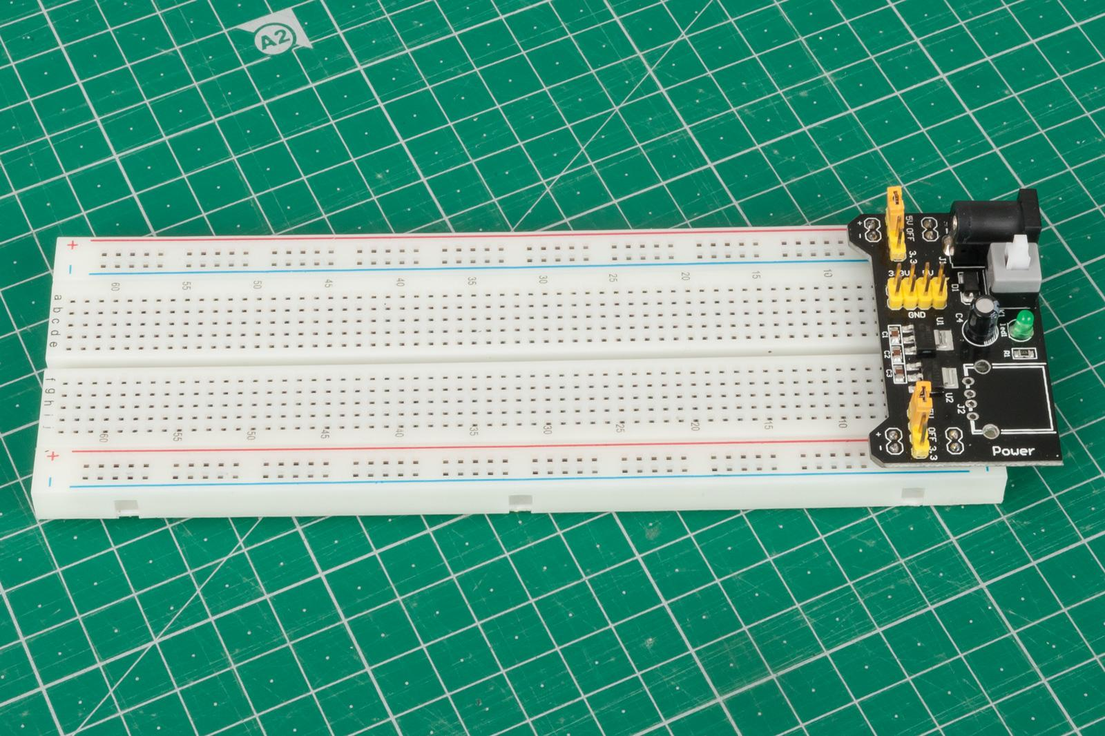 power to breadboard