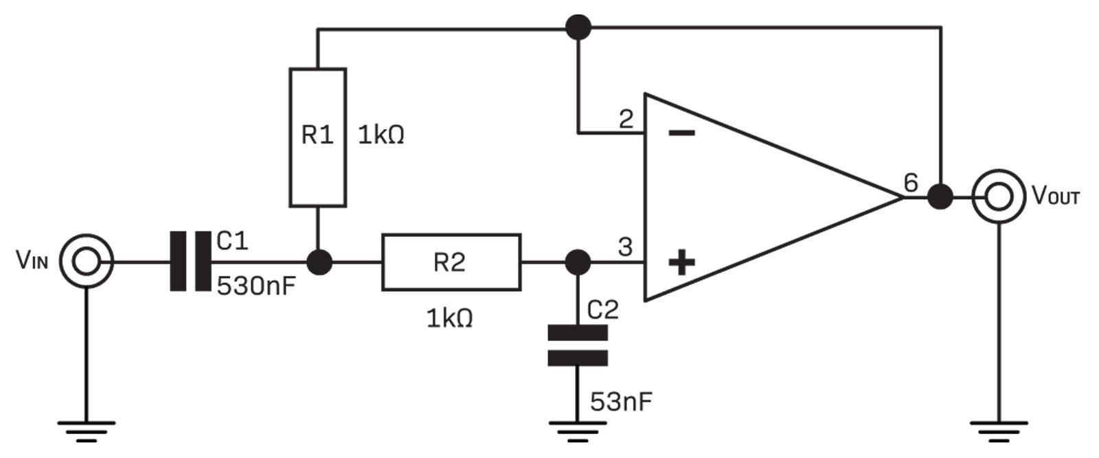 Filters Diyode Magazine Notch Filter Circuit Diagram Fig 7