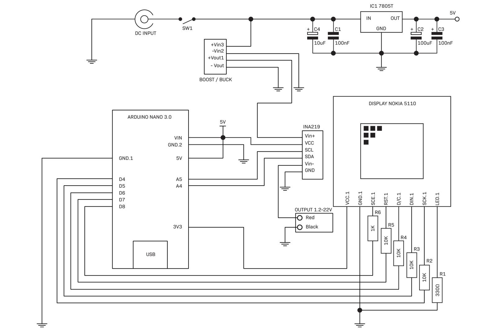 To 15v 400ma Regulated Power Supply Power Supply Diagram And Circuit