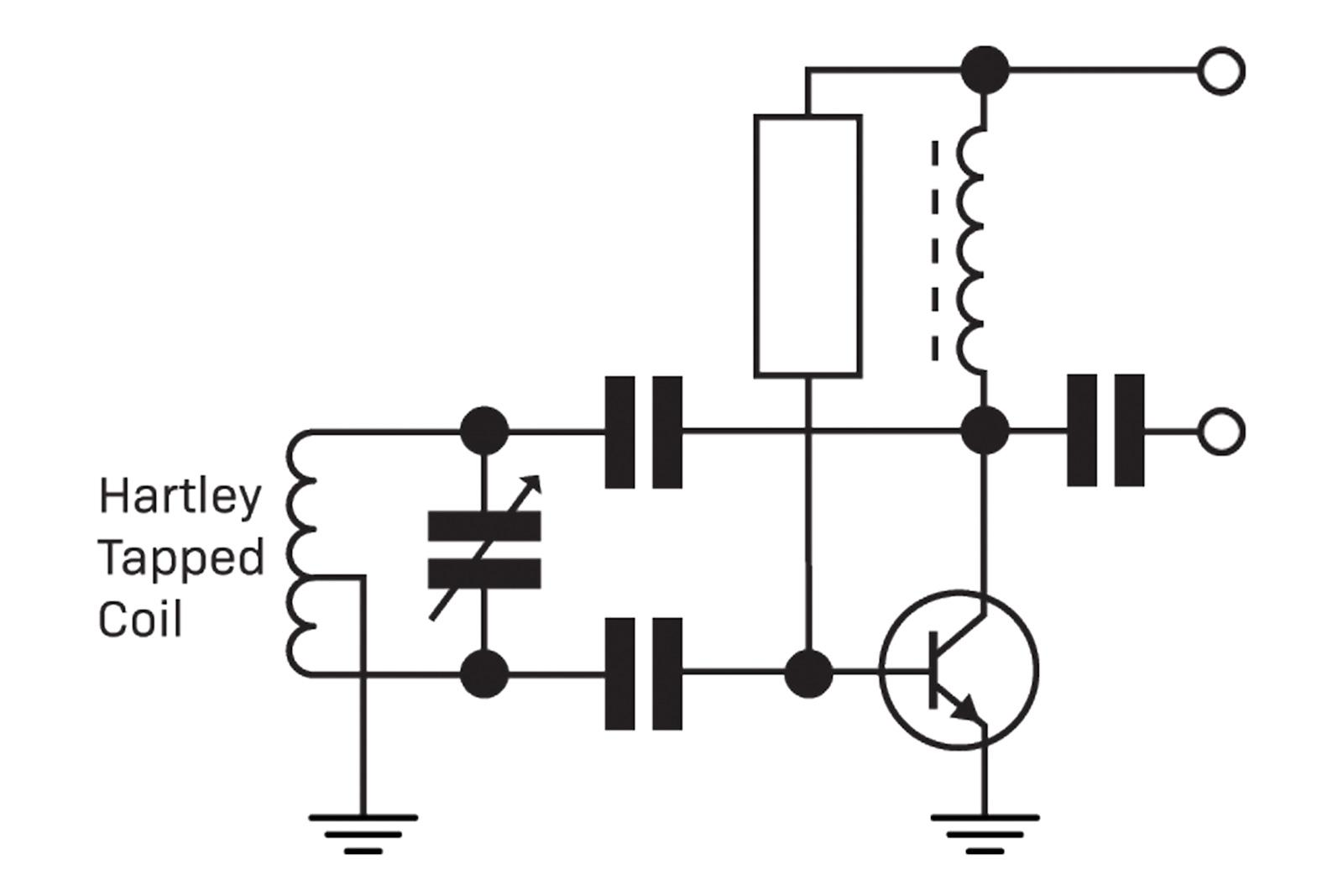 Making Waves Diyode Magazine Tapping Morse Code Circuit In An Inverting Configuration Amplifier The Is Grounded And End Of Coil Fed To Input Base On A Transistor Amp