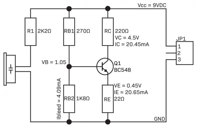 Common Emitter Transistor Amplifier - DIYODE Magazine