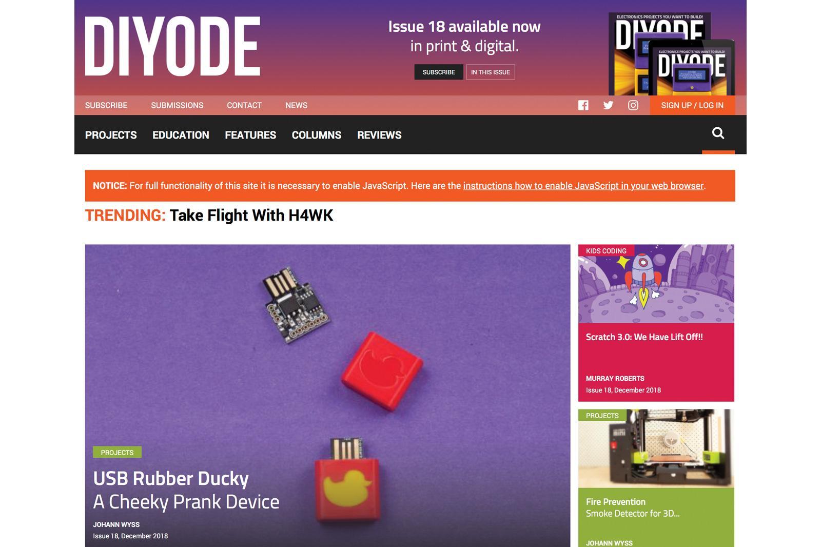 Part 1: Web App Building Blocks - DIYODE Magazine